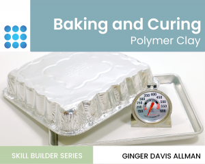 baking polymer clay tutorial cover