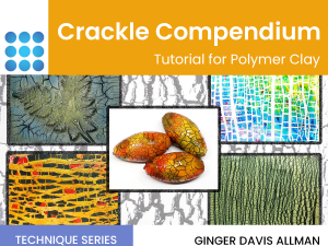 crackle compendium polymer clay tutorial cover