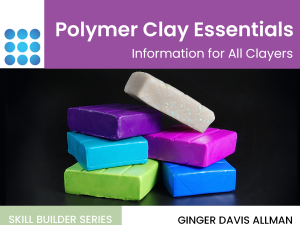 polymer clay essentials tutorial cover