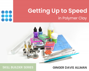 getting up to speed with polymer clay tutorial cover