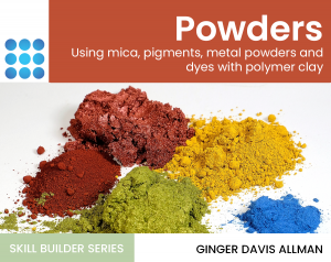 powders guide in polymer clay course cover