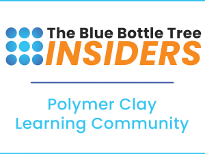 Blue Bottle Insiders polymer clay learning community